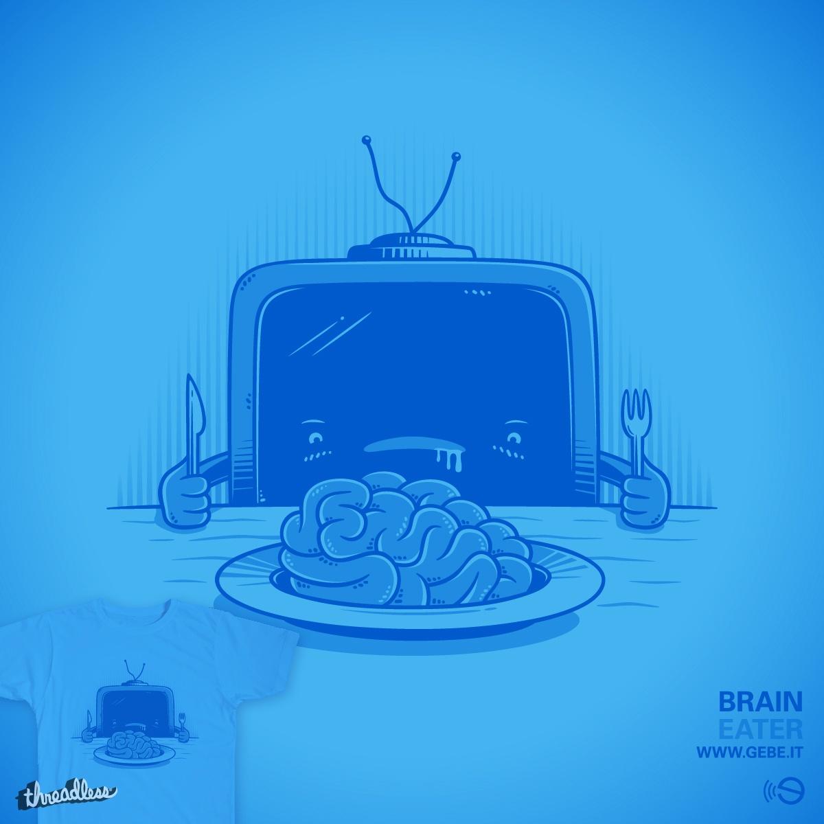 Brain eater by gebe on Threadless