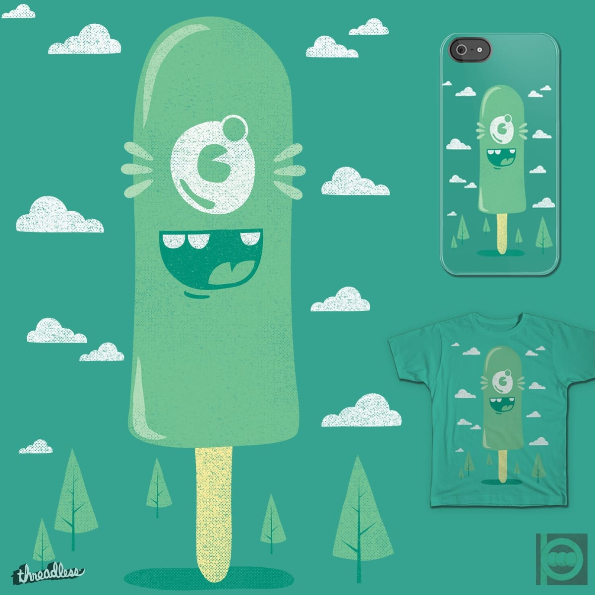 Cyclopsicle by BeanePod on Threadless