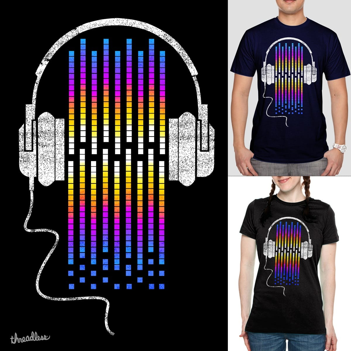 Enjoy The Sound by clingcling on Threadless