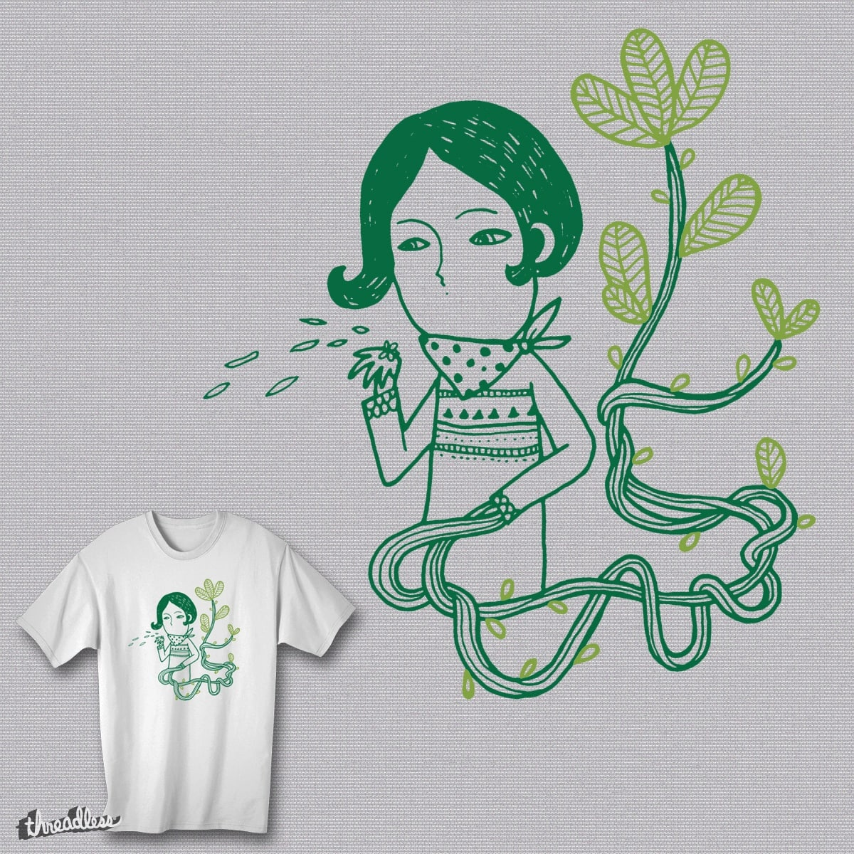 Here Comes The Green by ocmeo on Threadless