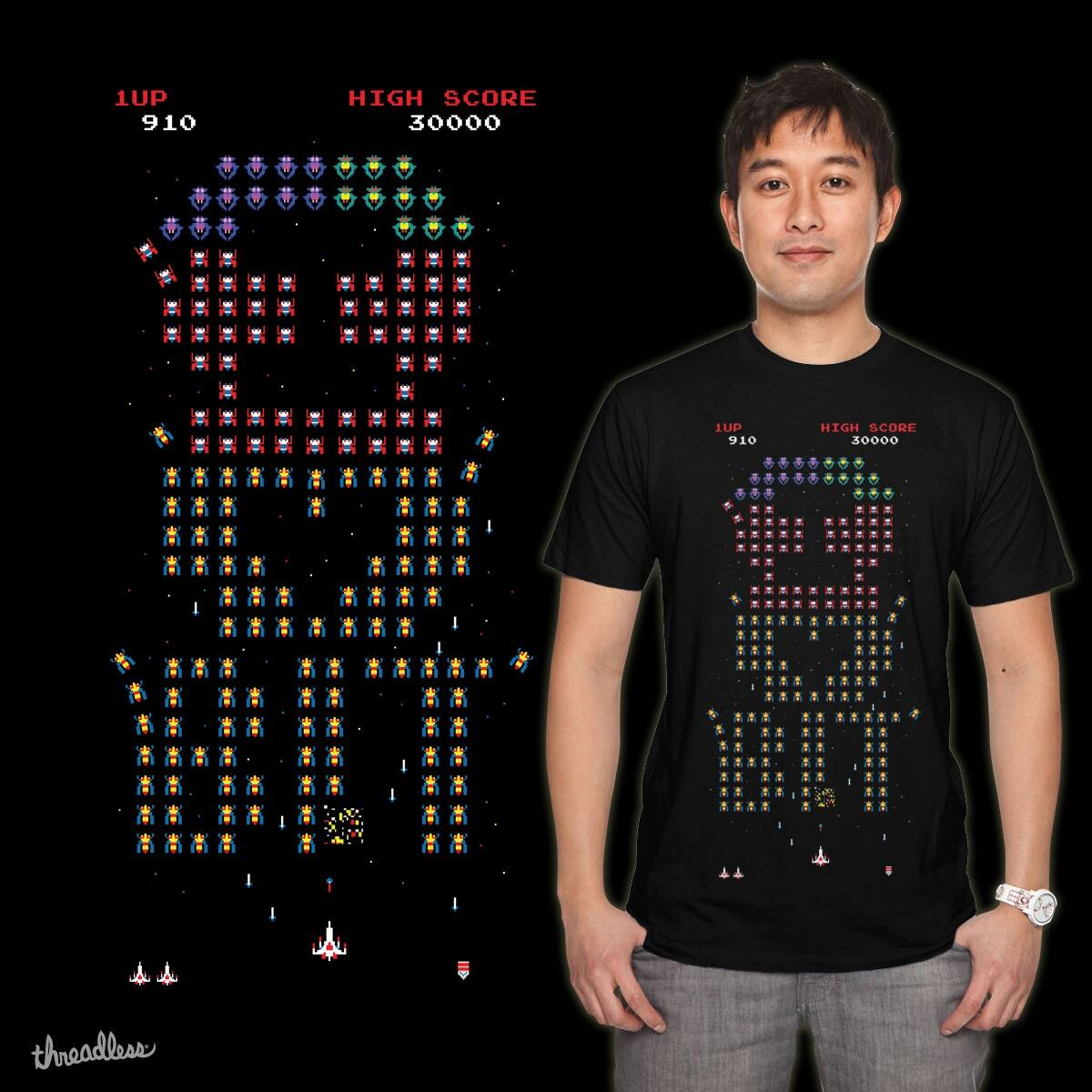 I LOVE 8BIT by azrhon on Threadless