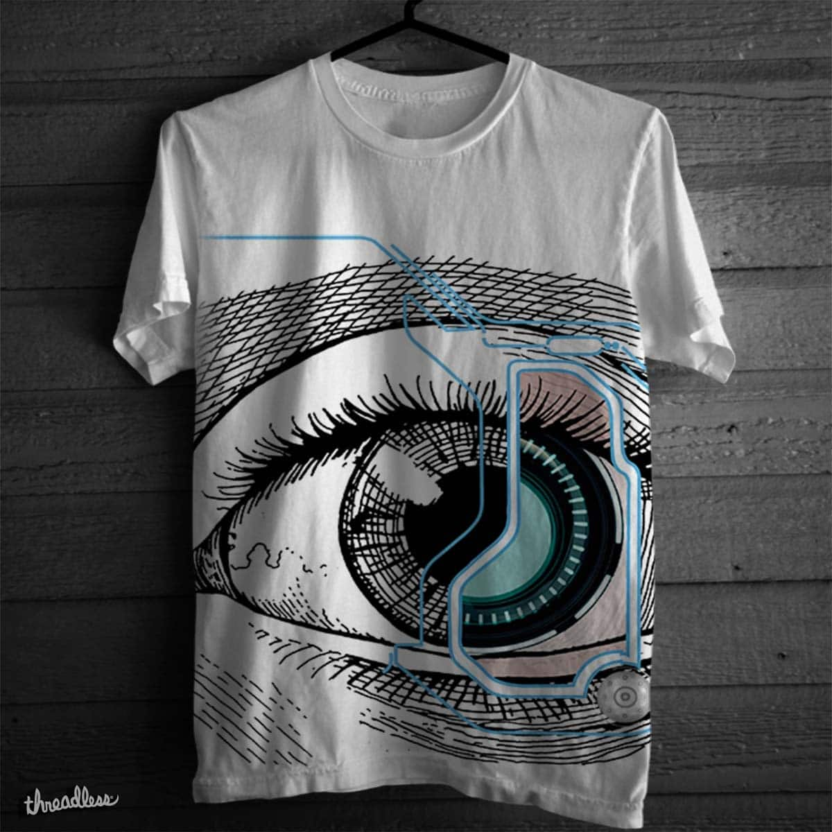 Eye see you  by Nix19 on Threadless