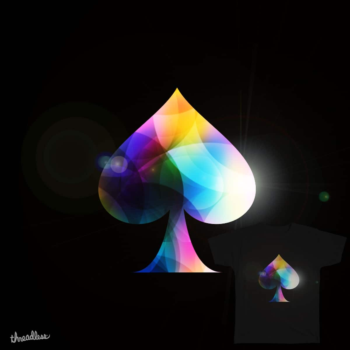 SpAde!  by kanamekura on Threadless