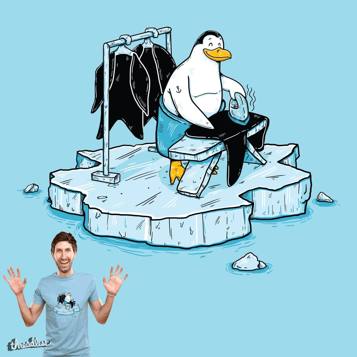 Global warming by BuyoDesign on Threadless