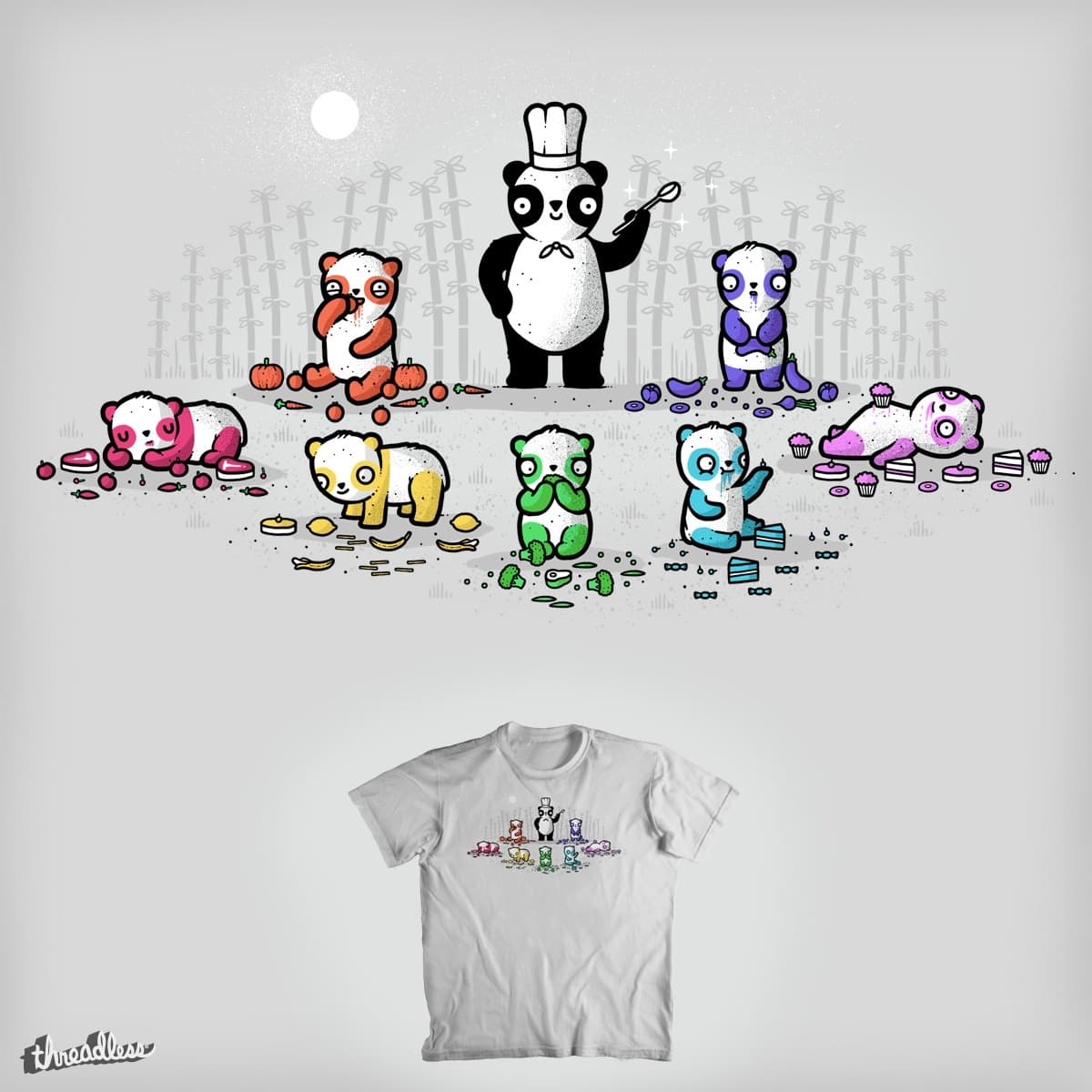 No artificial coloring by randyotter3000 on Threadless