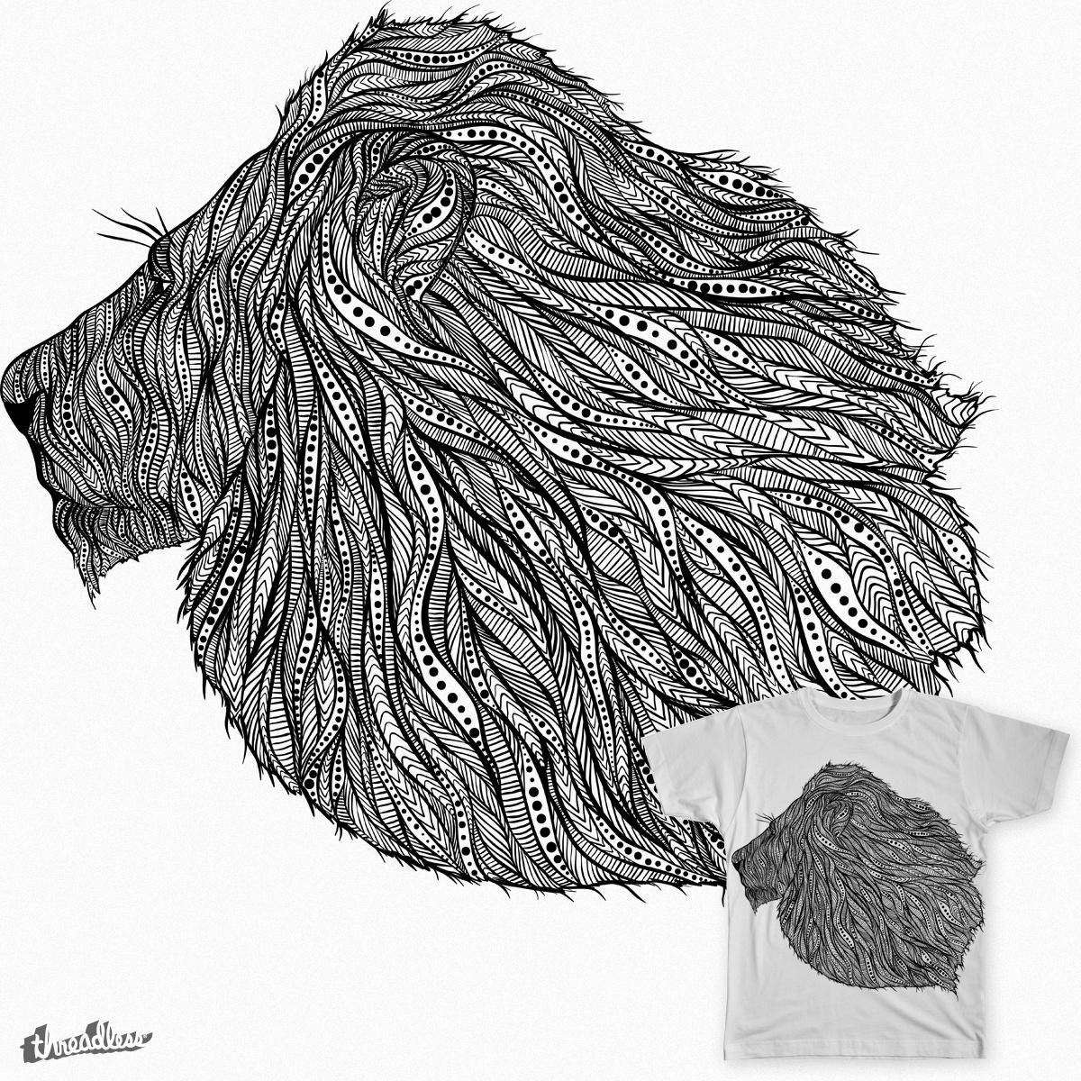 Native Lion by messthem on Threadless