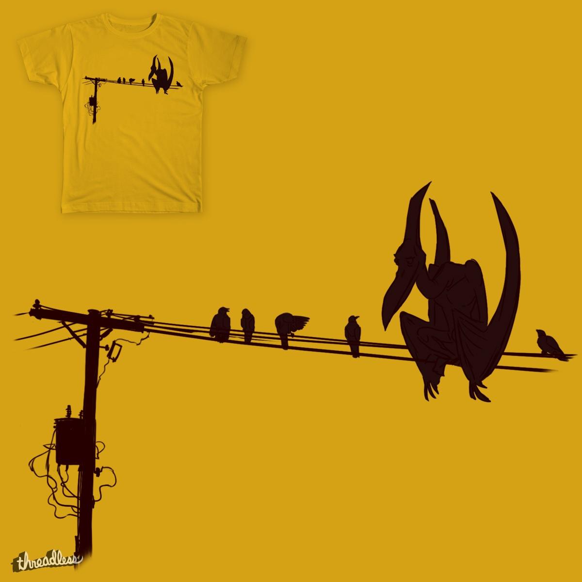 Pterosaur Lines by tedwilson79 on Threadless