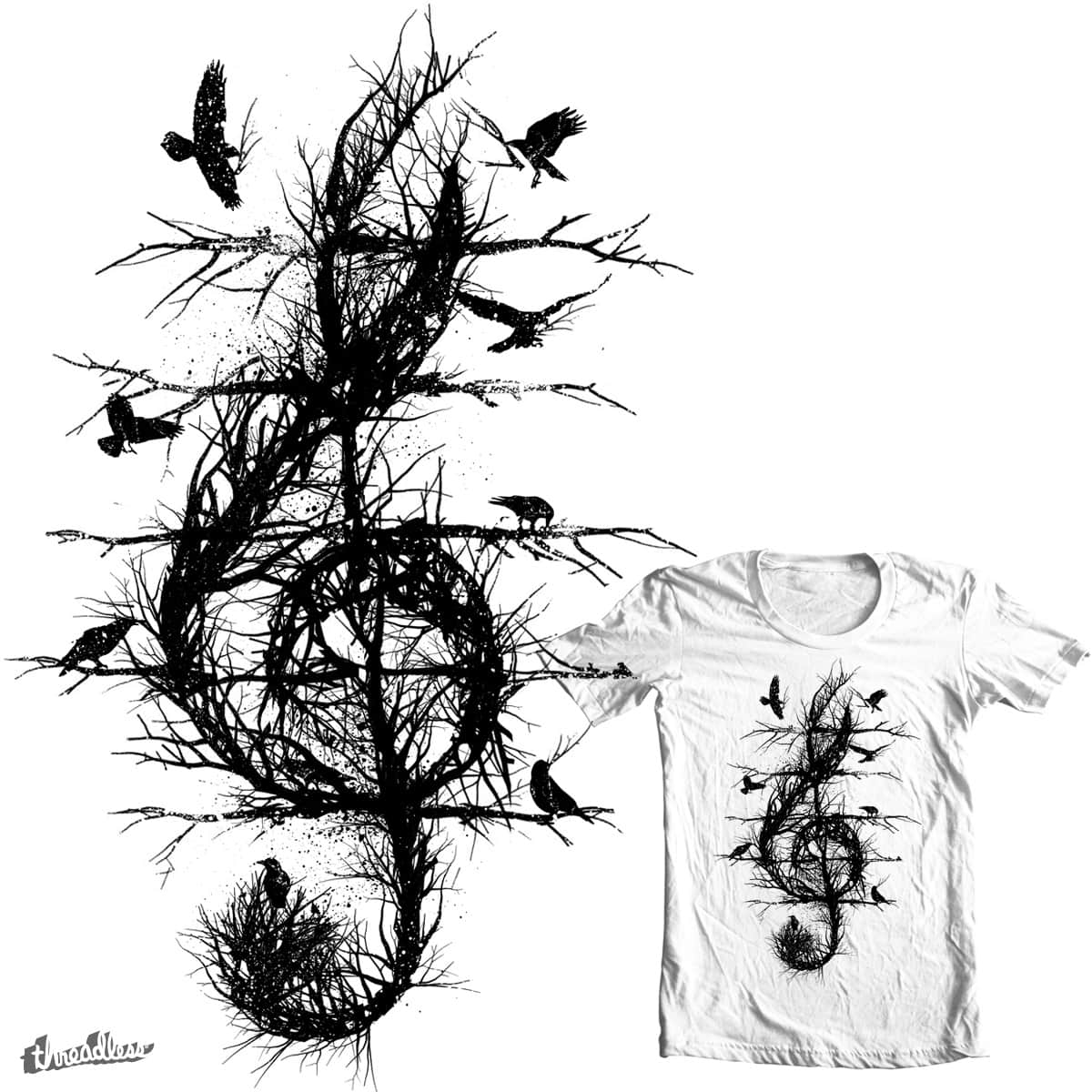 raven soprano by dilematiccoma on Threadless