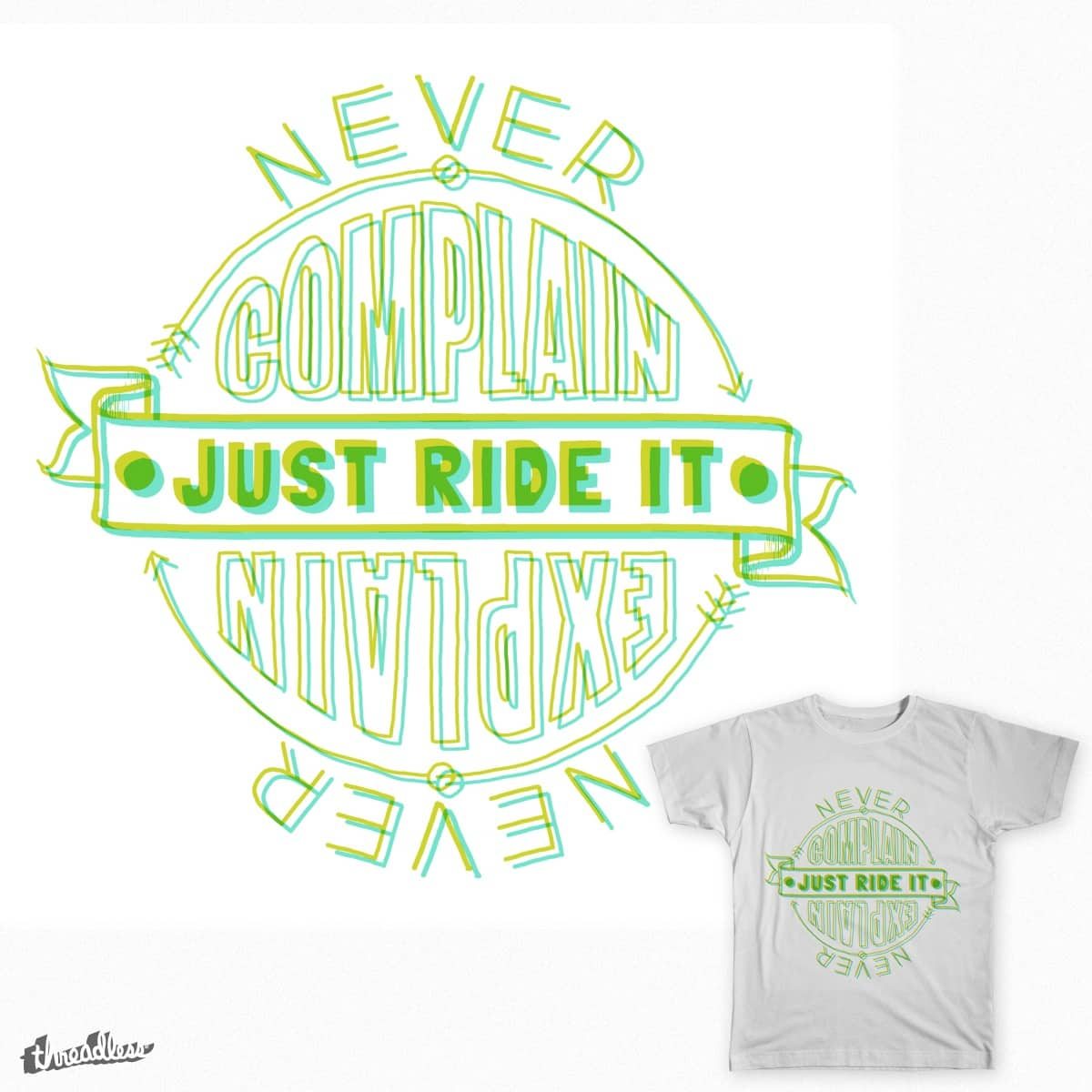 NEVER by tileXIII on Threadless