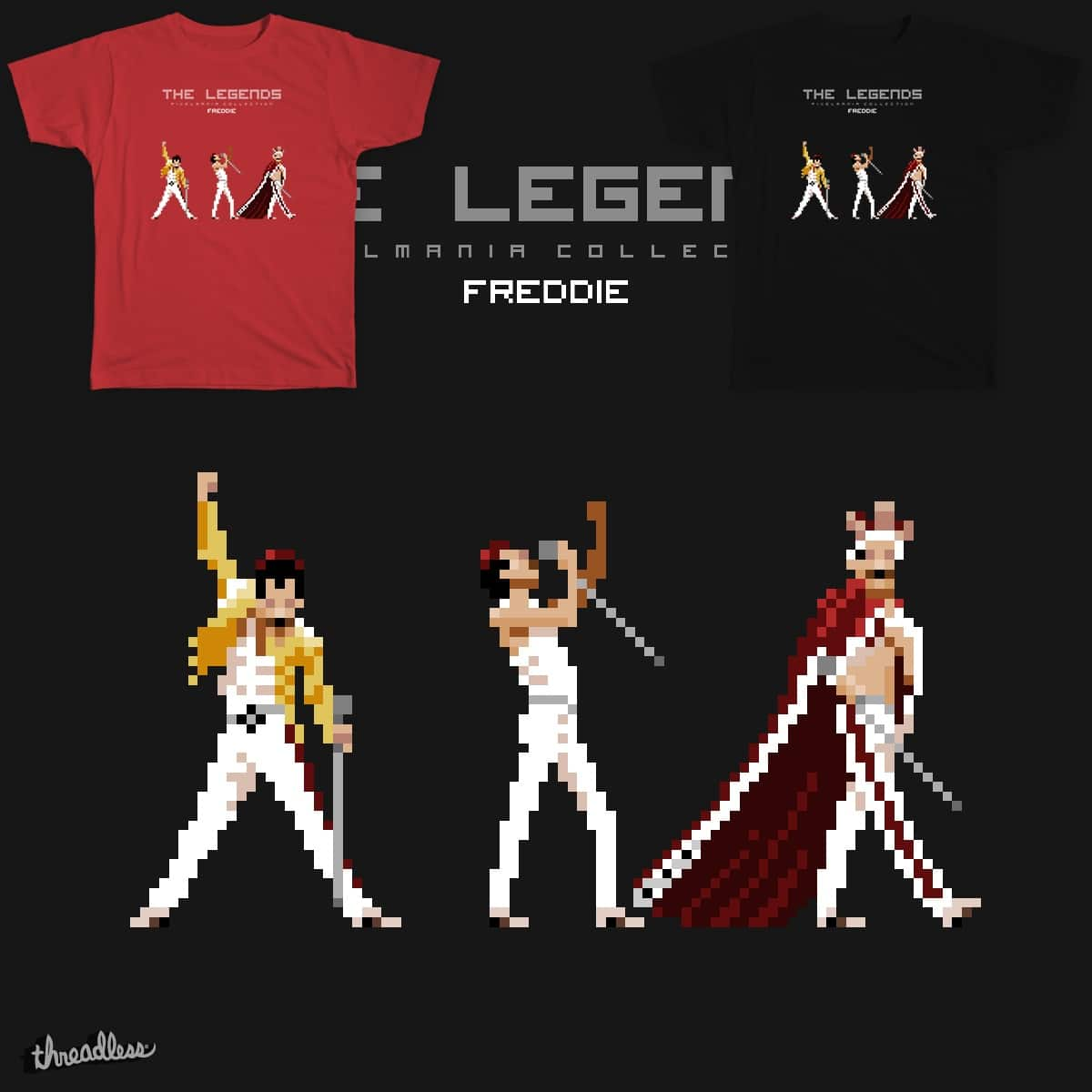 Pixelmania Collection. Freddie by yapp on Threadless