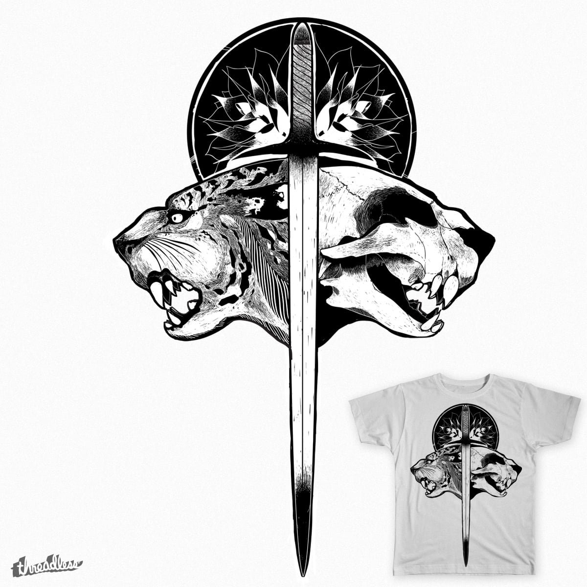 By the Sword by kyle.bigger.9 on Threadless