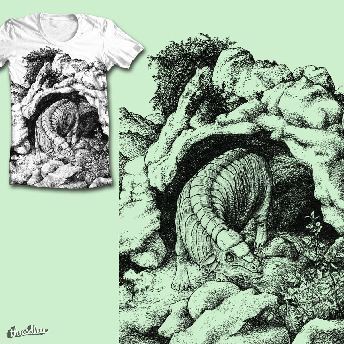 Fabelwesen VIII by WhoKnowsEverything on Threadless