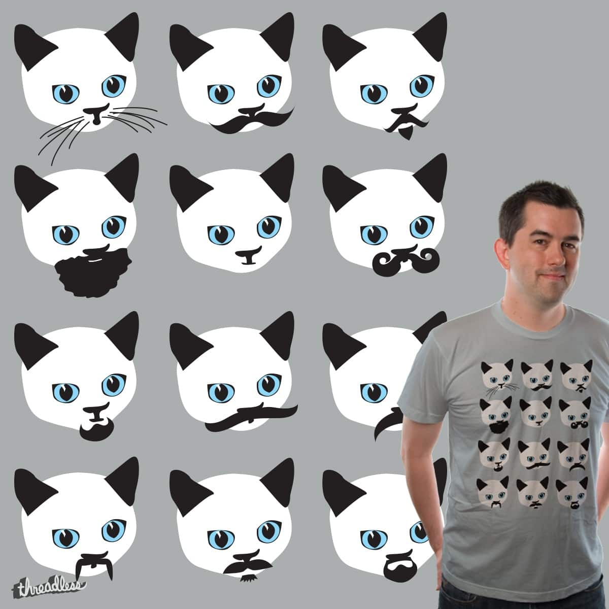 CHOOSE YOUR STYLE FOR YOUR CAT by edgarscratch on Threadless