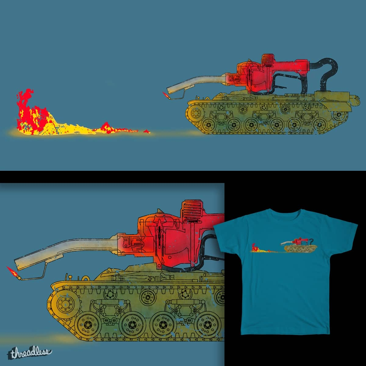 GAS TANK by daless25 on Threadless