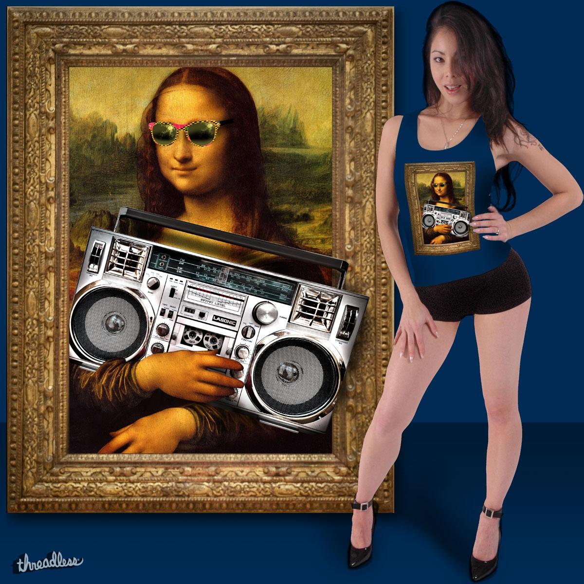 Mona Lasonic by billtracyphoto on Threadless