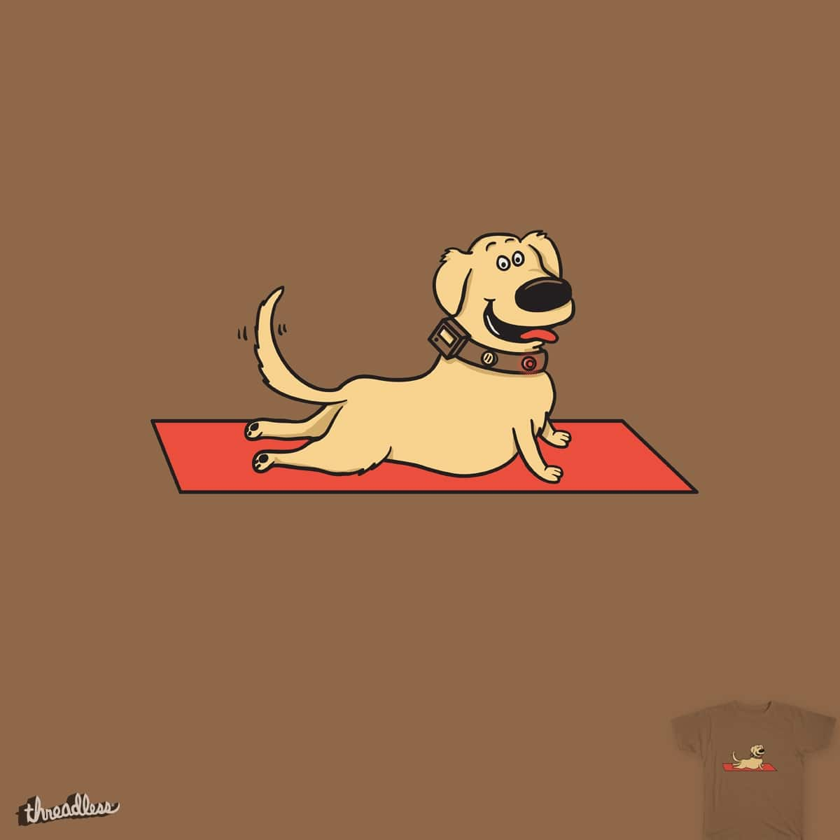Up Dog by murraymullet on Threadless