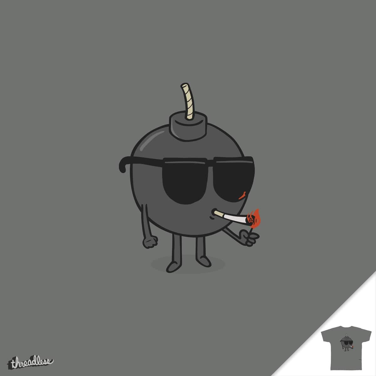 Badass Bomb by murraymullet on Threadless