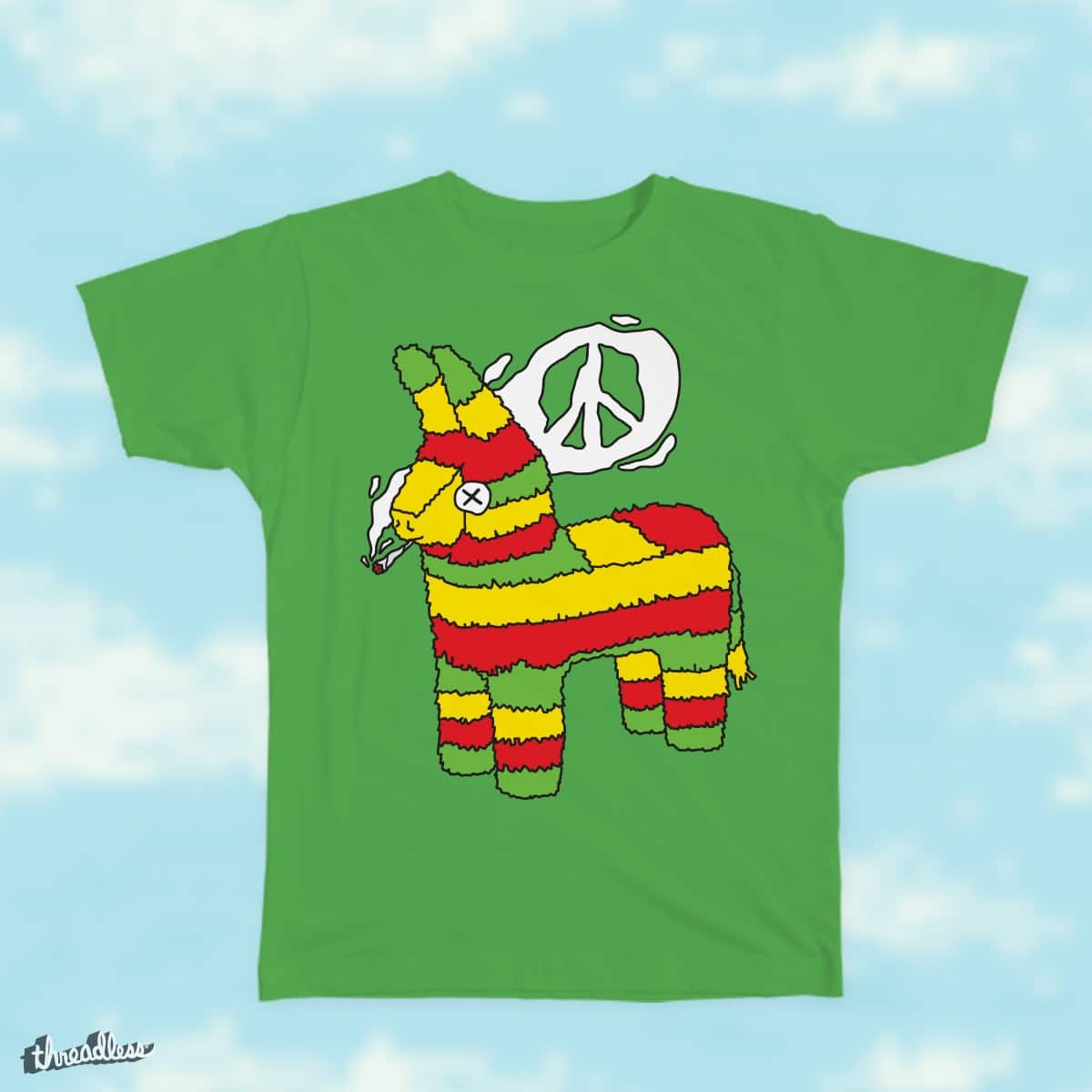 Peaceful pinata by dmitriylo on Threadless