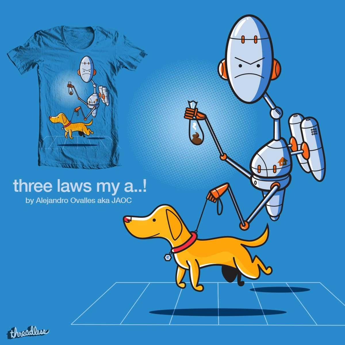 three laws my a..! by jaoc28 on Threadless