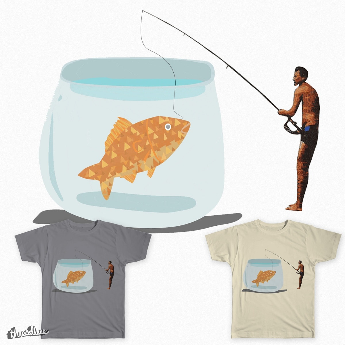Fisherman by thedeadsquid on Threadless