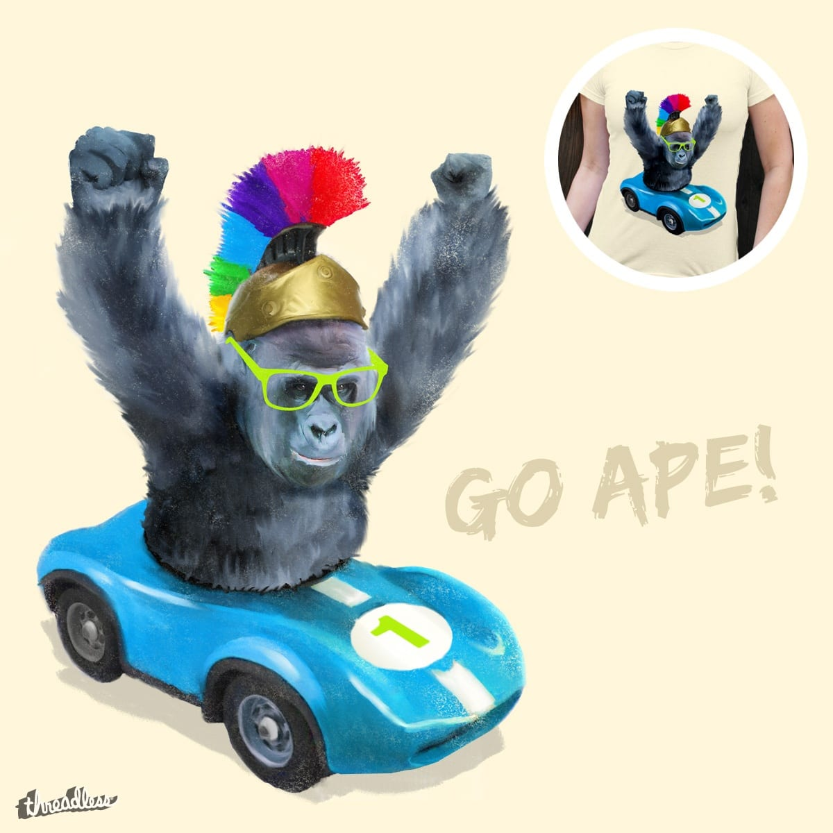 Go Ape! by levman on Threadless