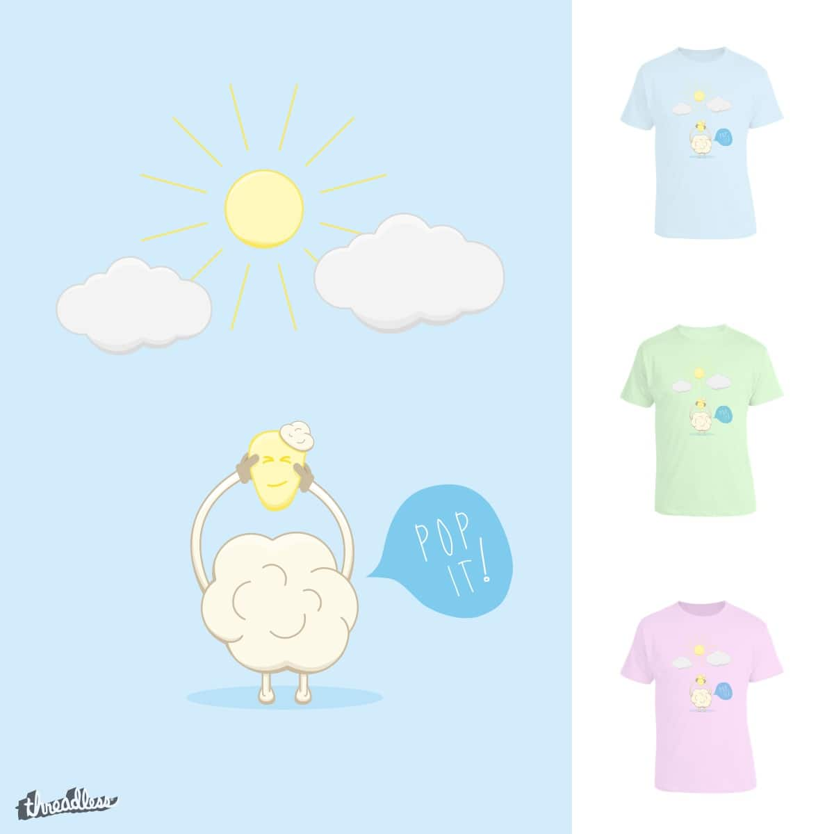 Born To Pop by imbb86 on Threadless
