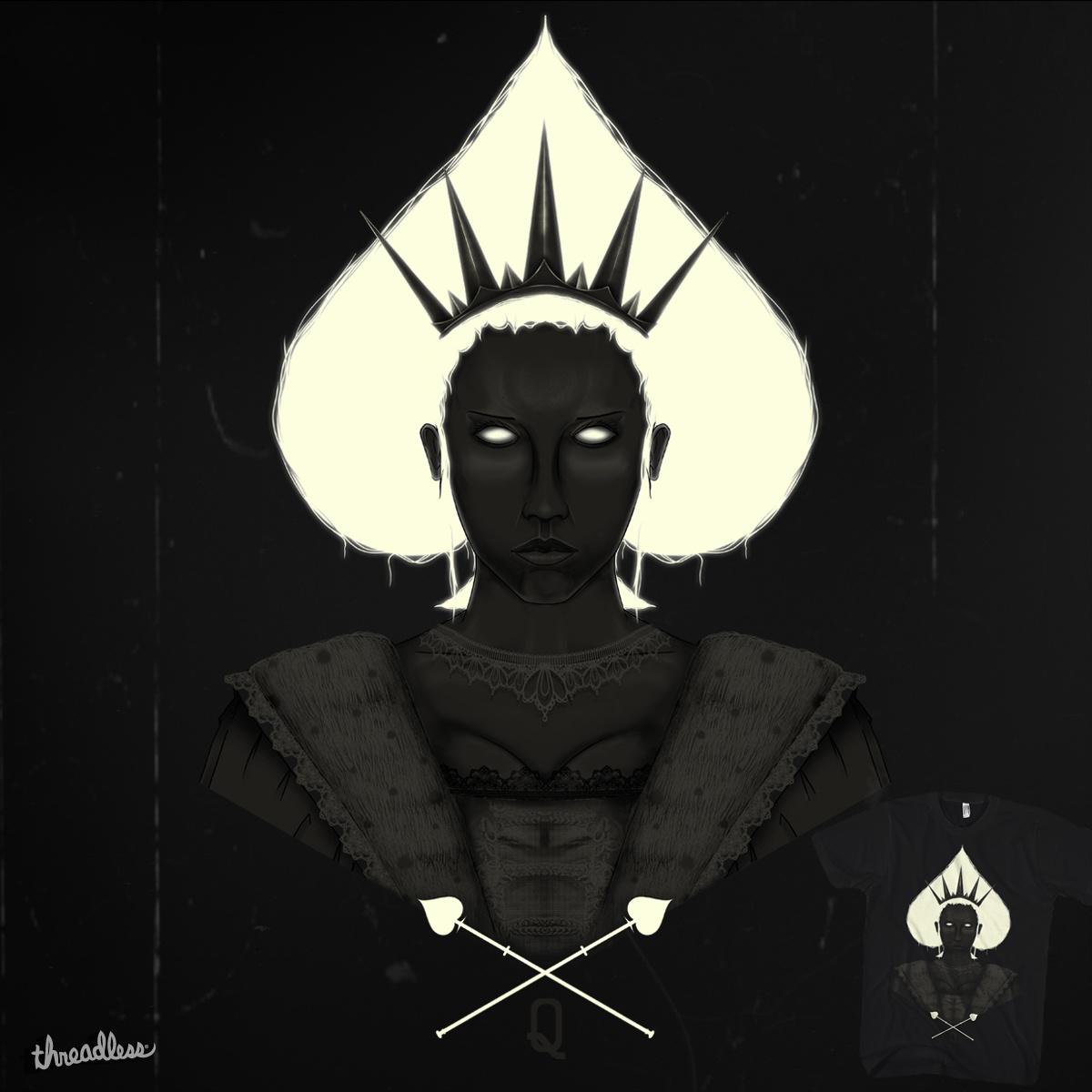 Queen of Spades by sebasebi on Threadless