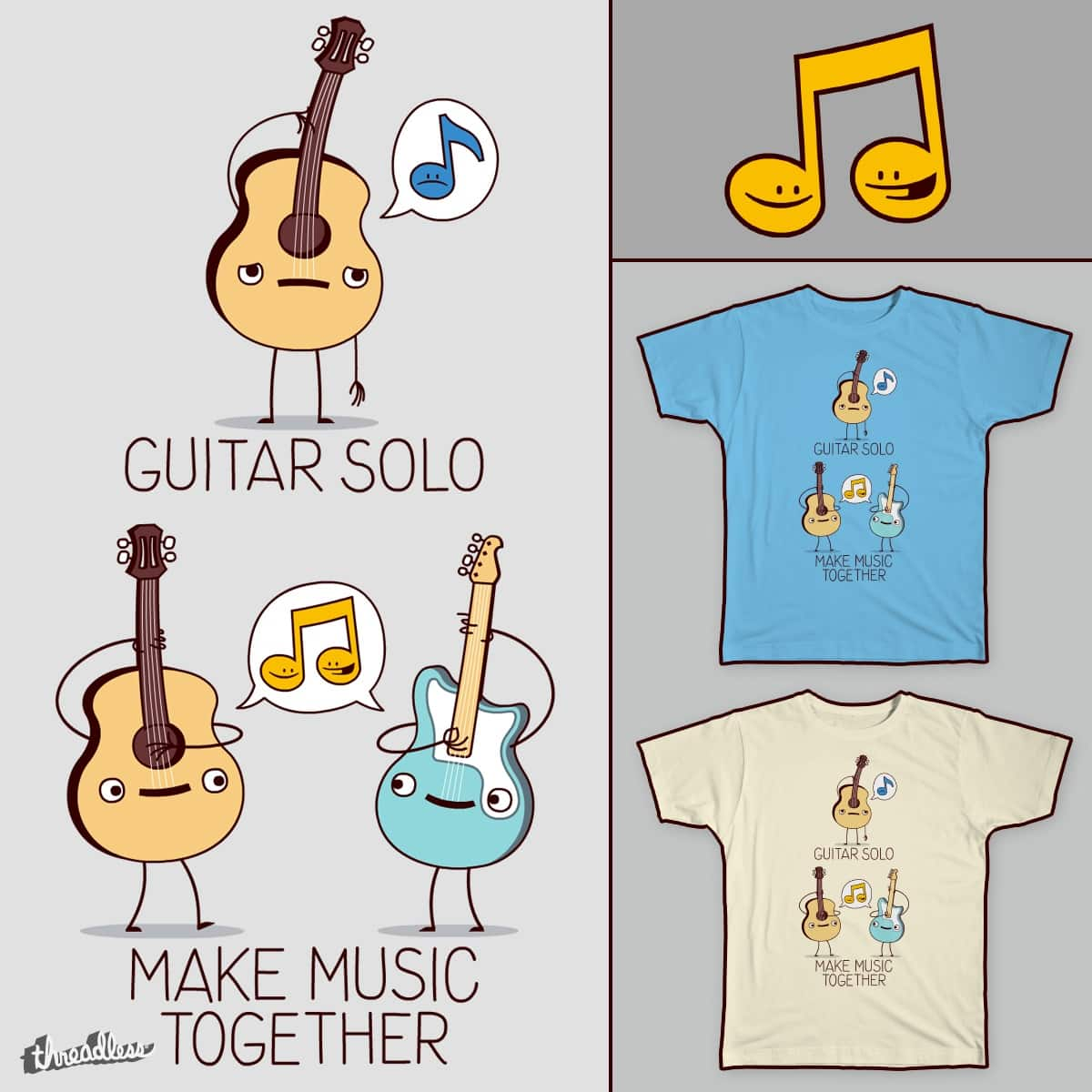 Plays Well With Others by FRICKINAWESOME and ALEJANDR0ID on Threadless