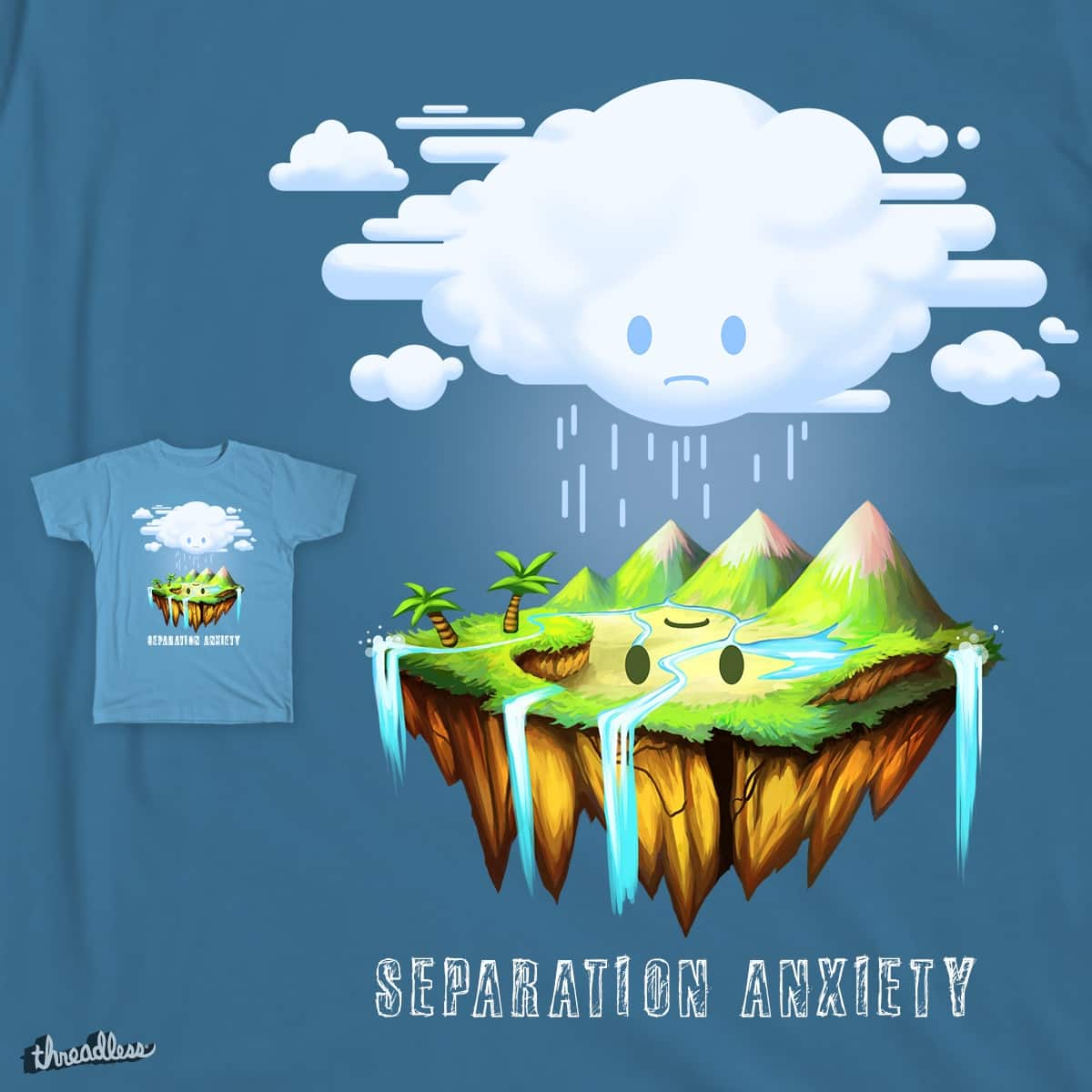 Separation Anxiety by cjkreative on Threadless