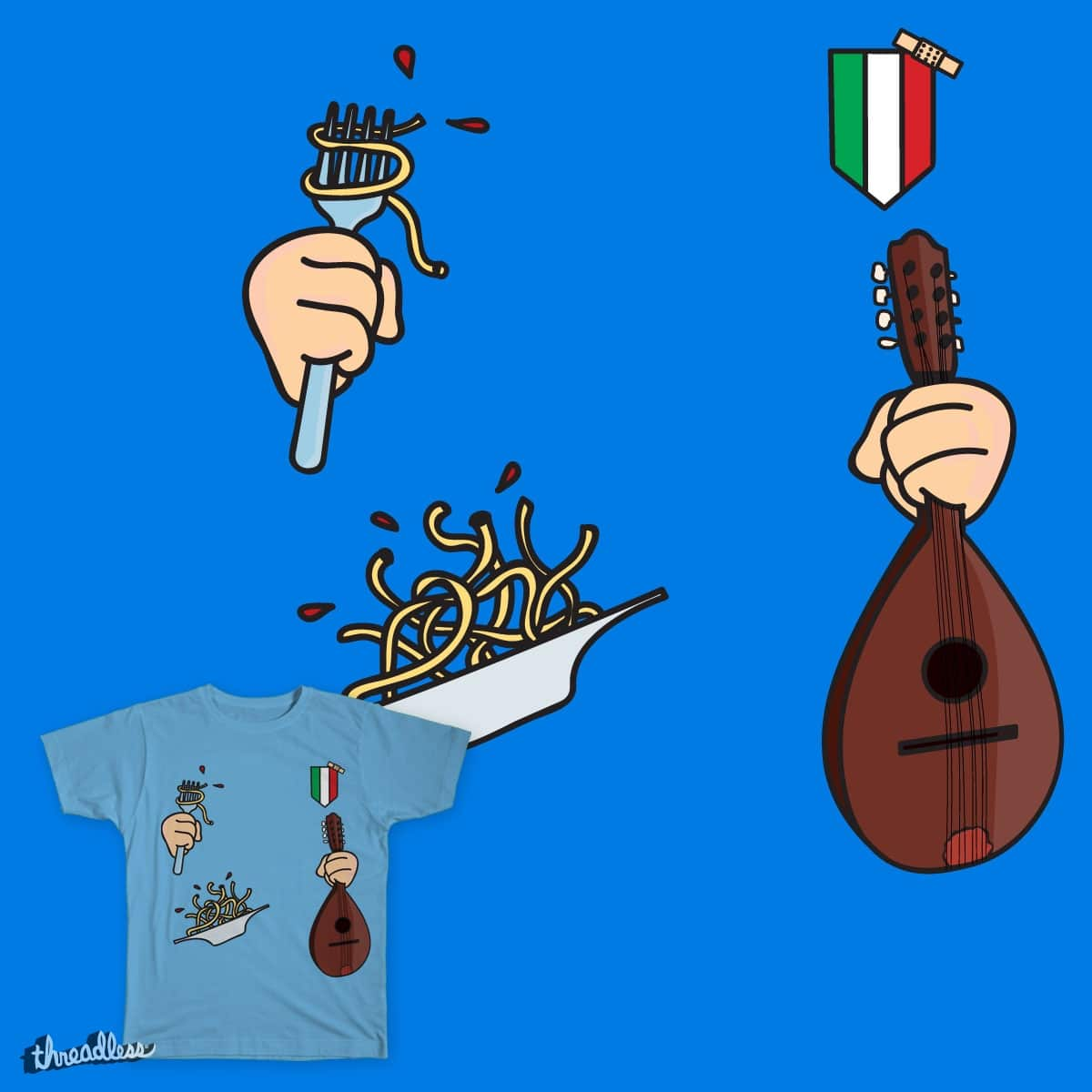 World Cup - Italy by Zerostile on Threadless