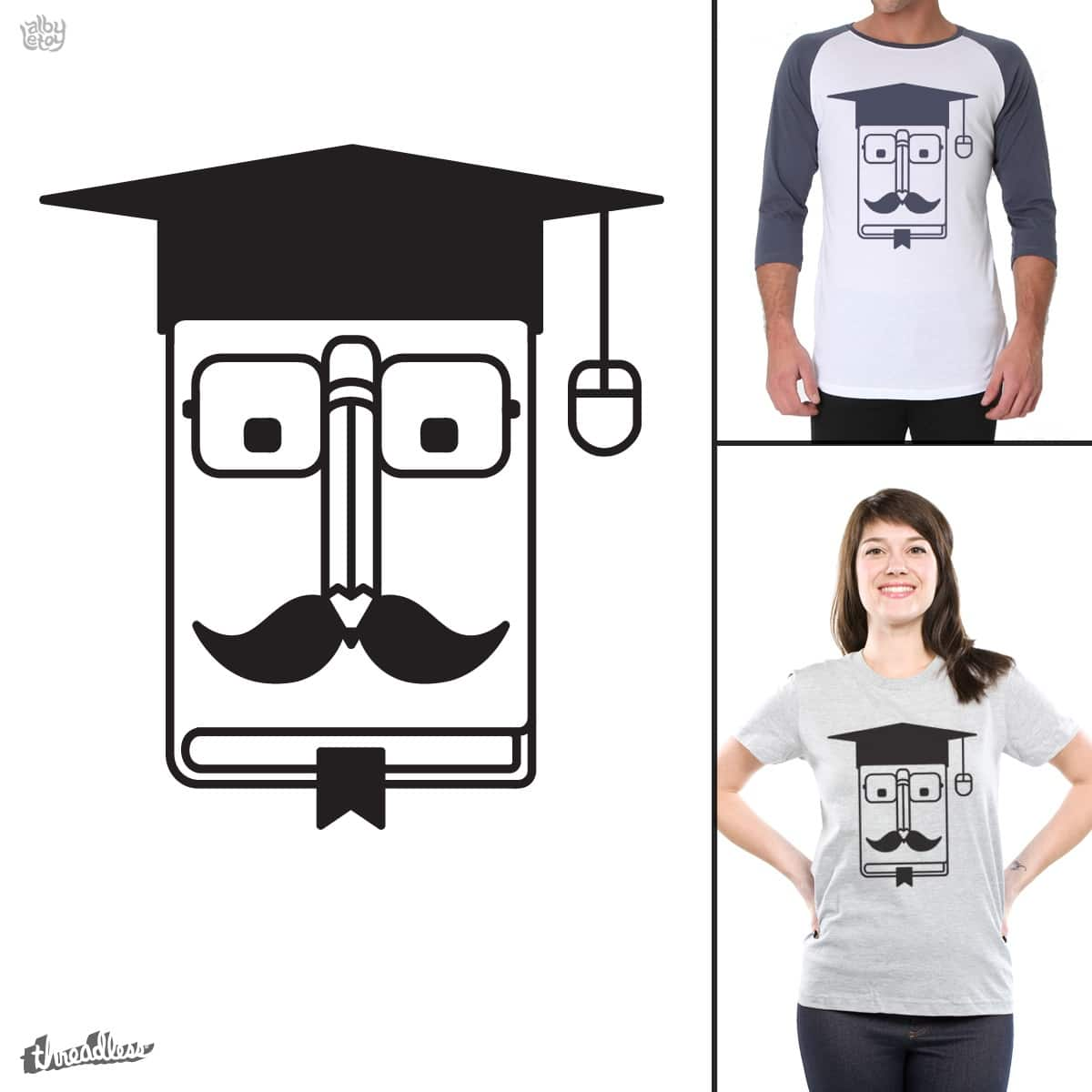 Internet Graduate by albyletoy on Threadless