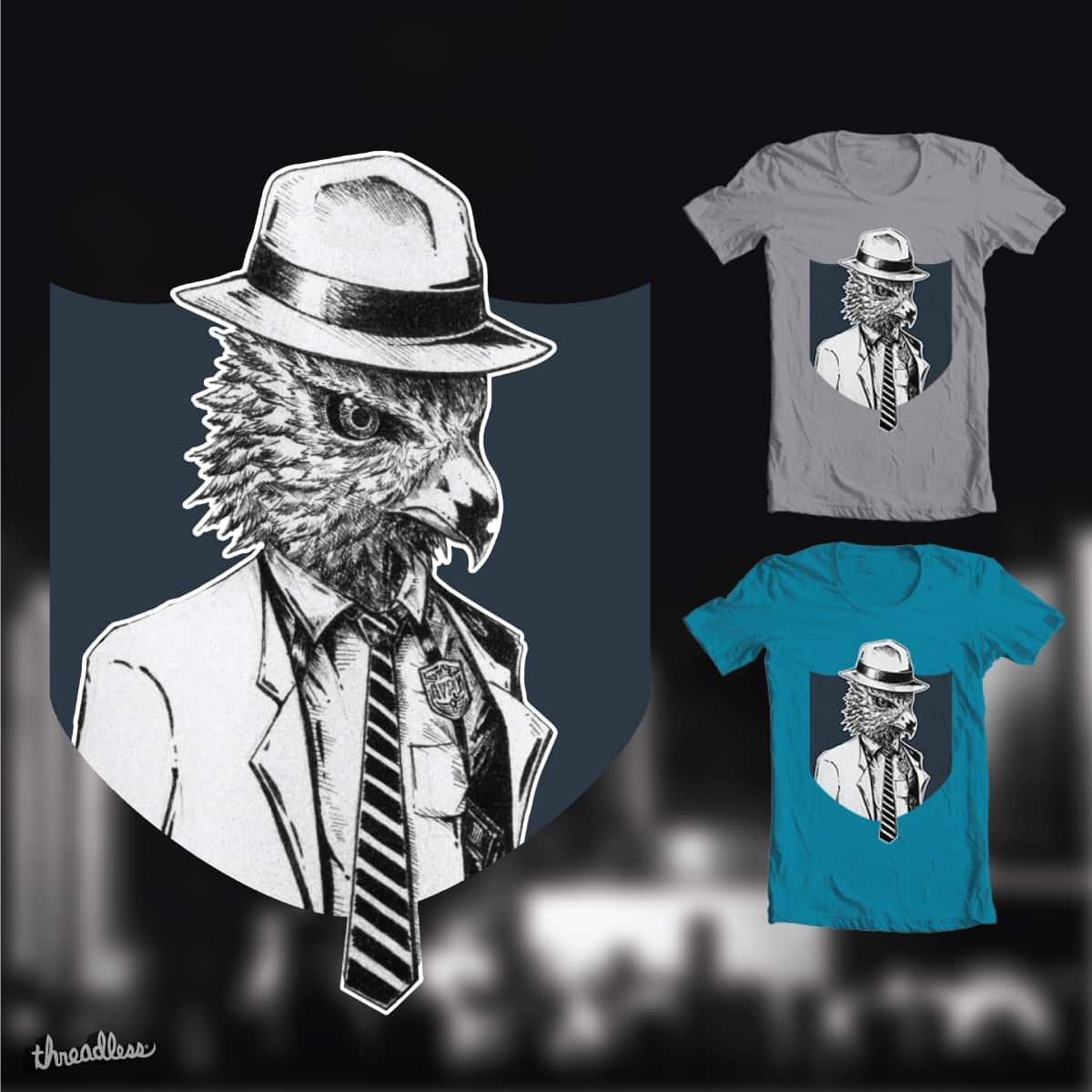 AvesSeries - EAGLE by PopoParker on Threadless
