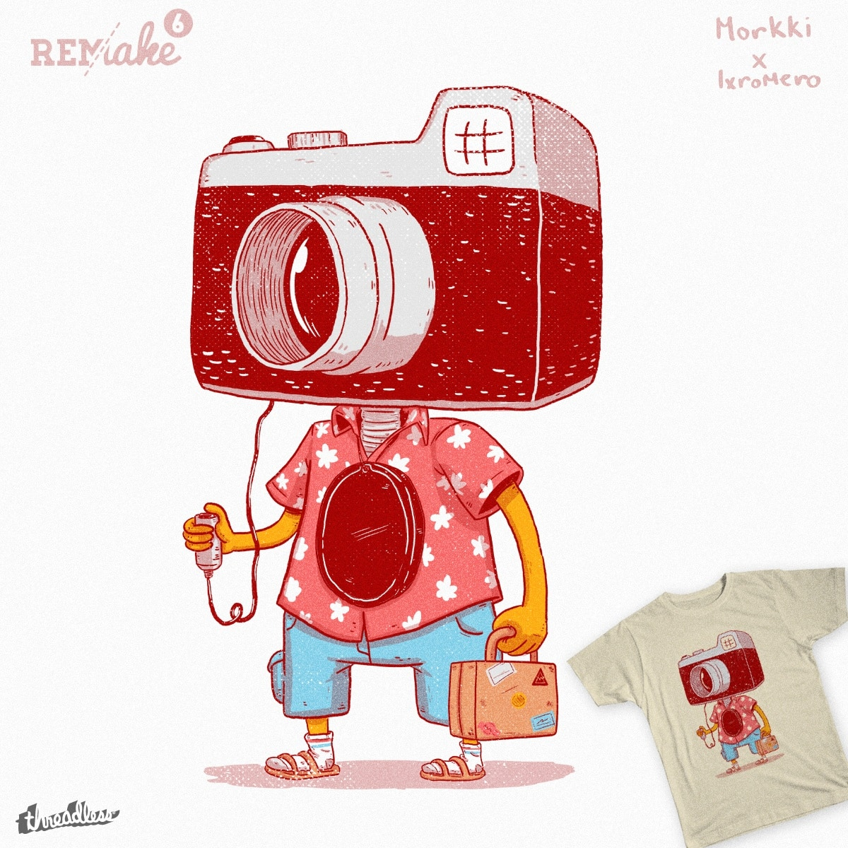 The Tourist by lxromero and Morkki on Threadless