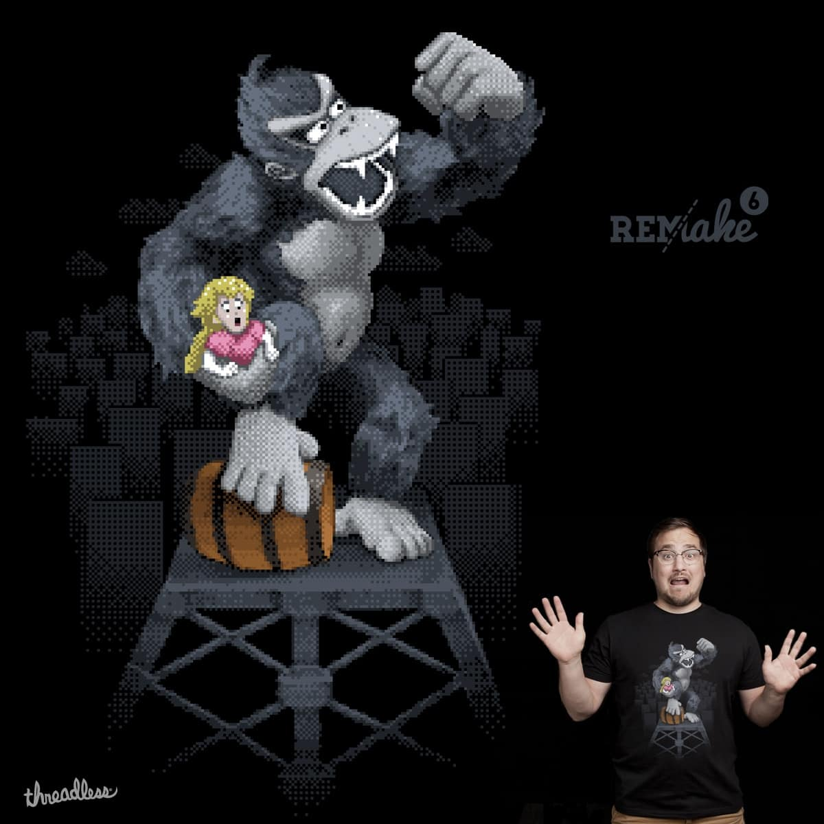 Don King Kong by melmike and Theo86 on Threadless