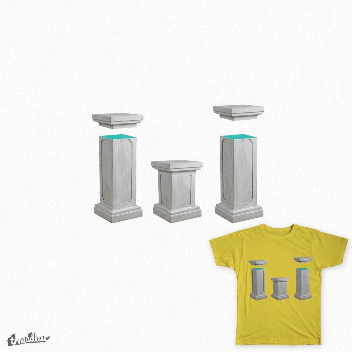 Pop Columns by Trefler on Threadless