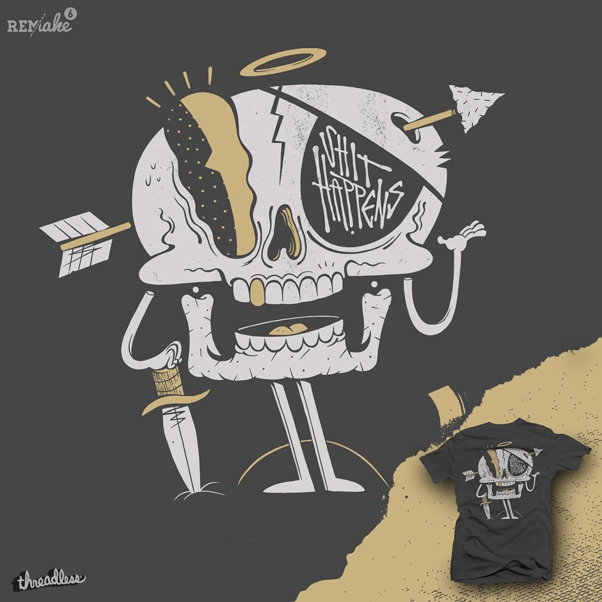 everyone dies by citizen rifferson and mike bautista on Threadless