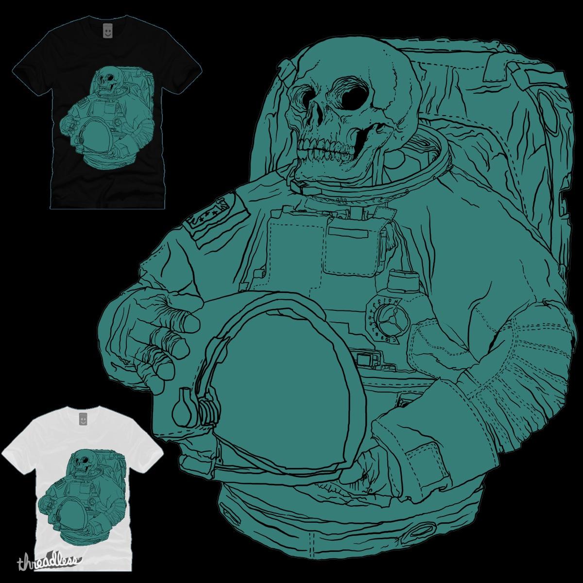 AstroSkull by gupikus on Threadless