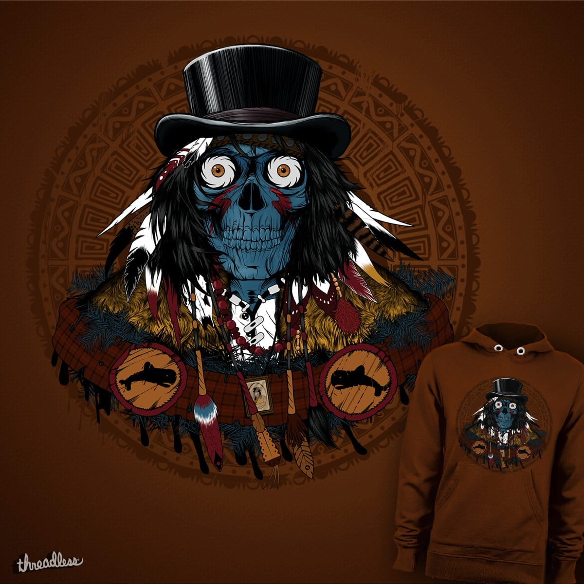 Dead Man  by JohnnyBlack on Threadless