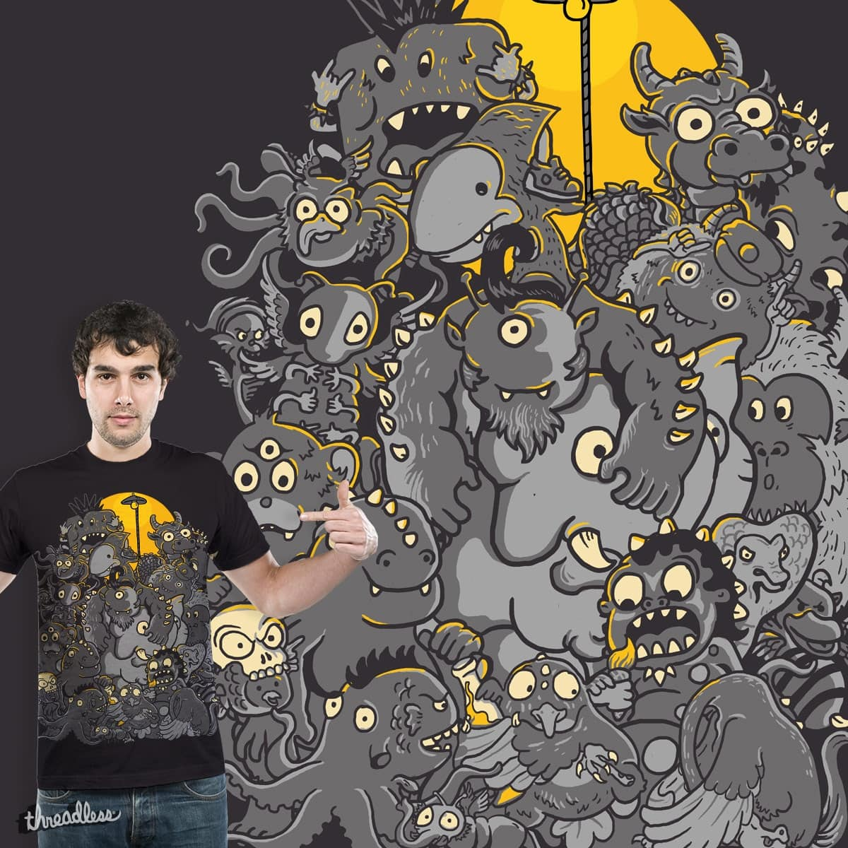 My pet Monster by Methlop39 on Threadless