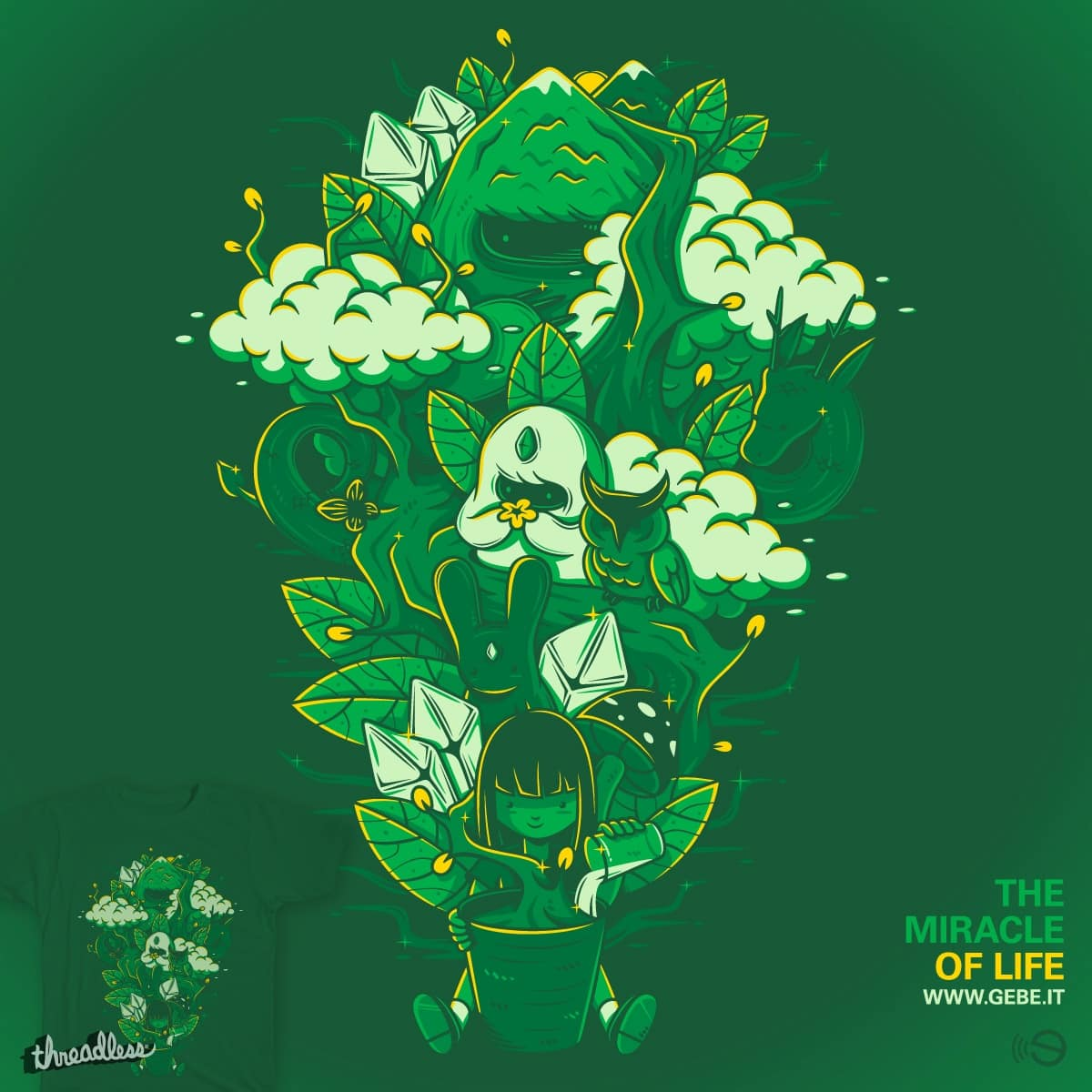 The miracle of life by gebe on Threadless