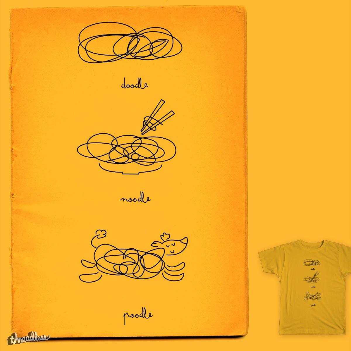 Score doodle-noodle-poodle by chelo jm on Threadless