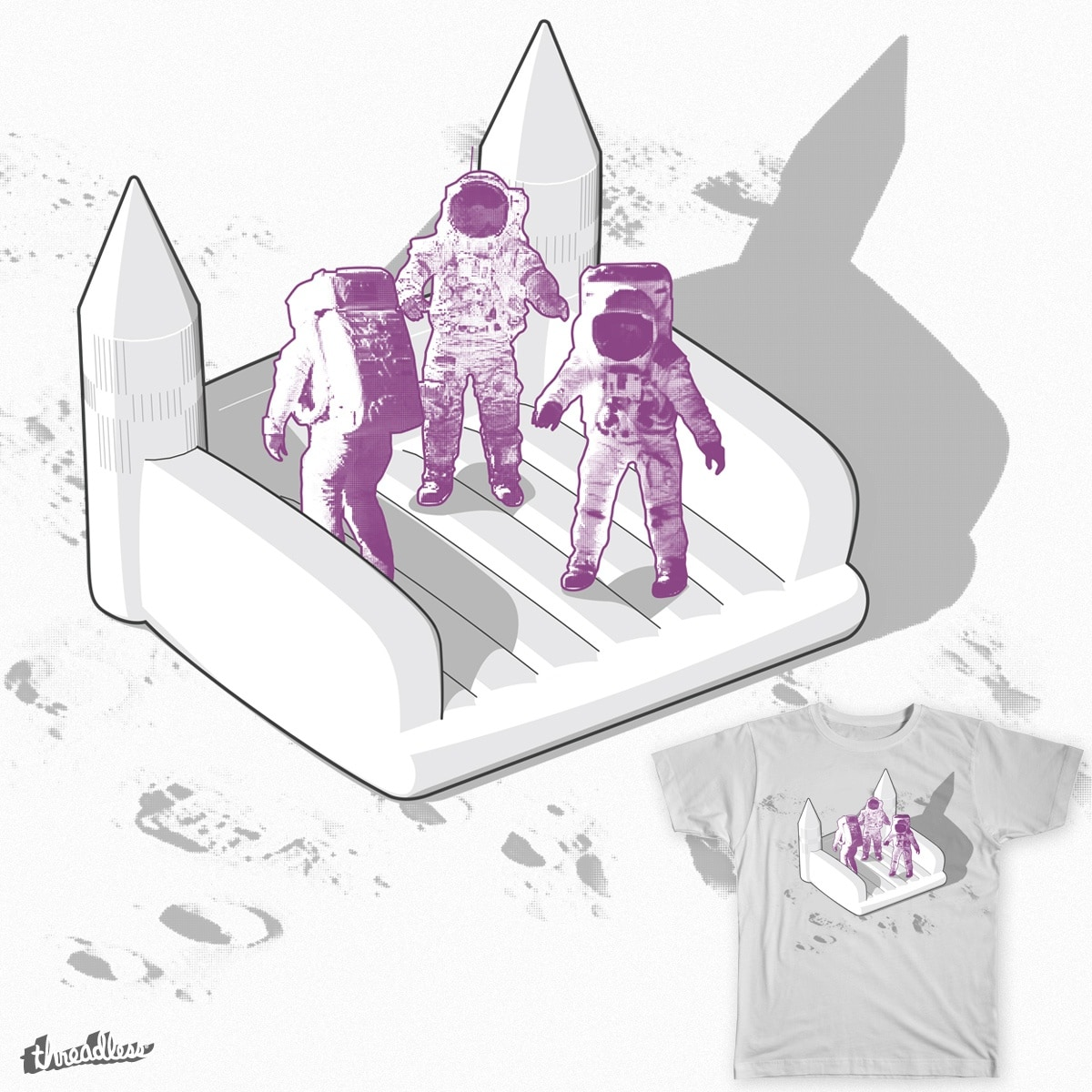 one giant leap for man kind by lkhs on Threadless