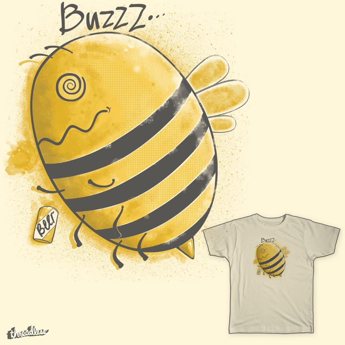 Responsible for my own Buzz by 7Ninja on Threadless
