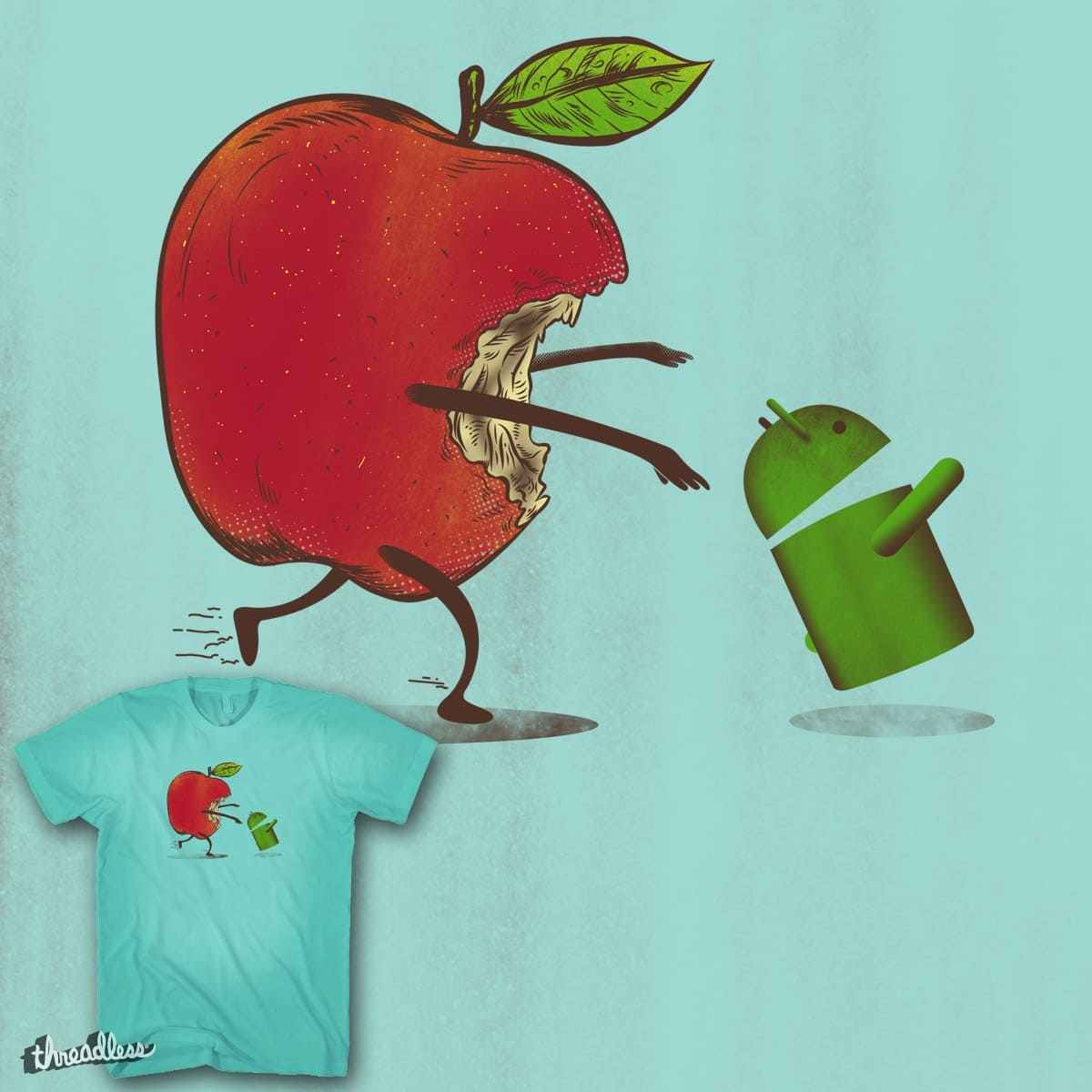 Paranoid Android by mainial on Threadless