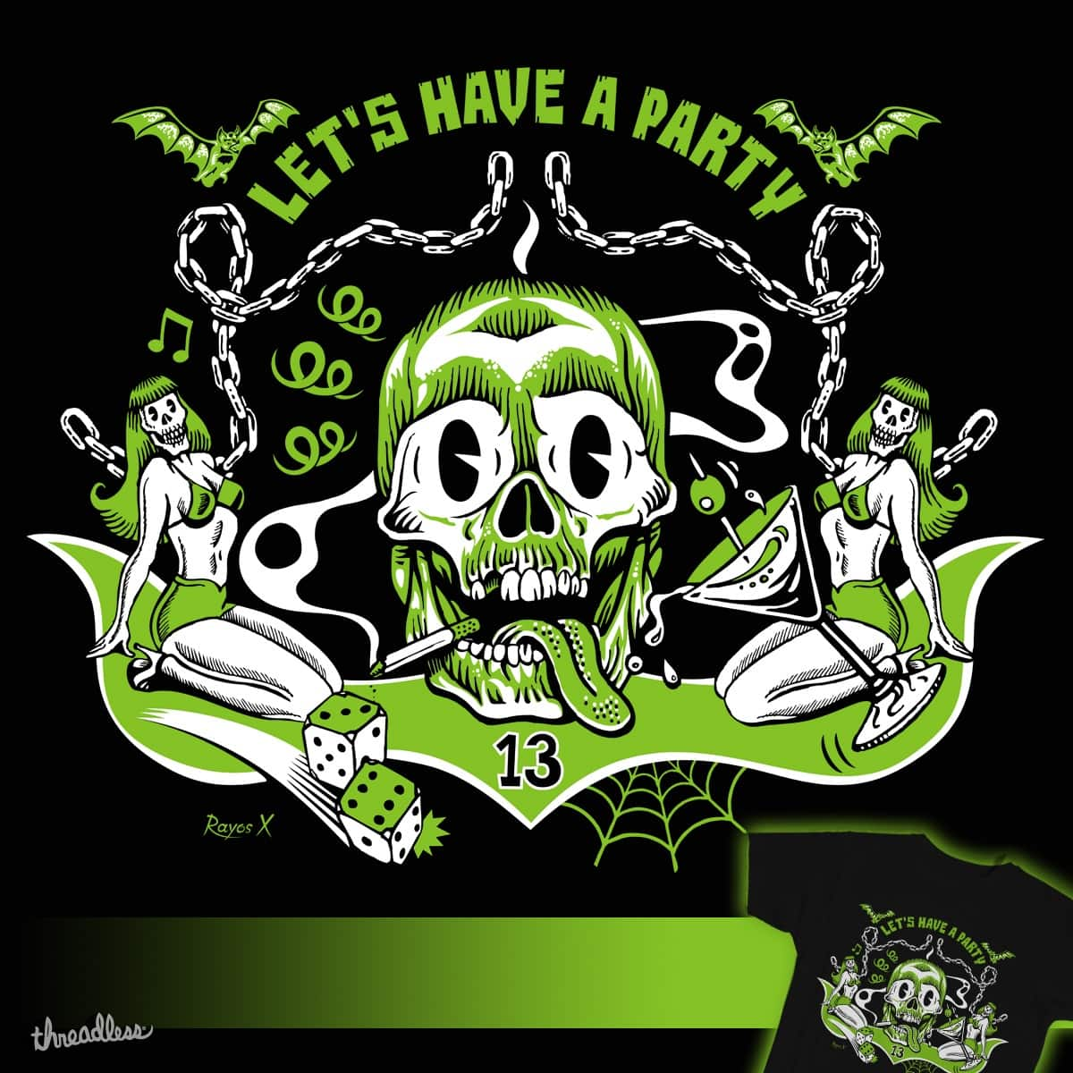 LET'S HAVE A PARTY by RAYOS X on Threadless