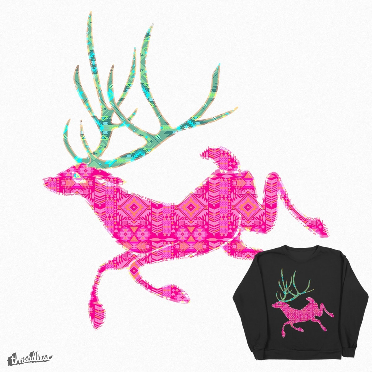 Deer Bae Light by caseybassey on Threadless