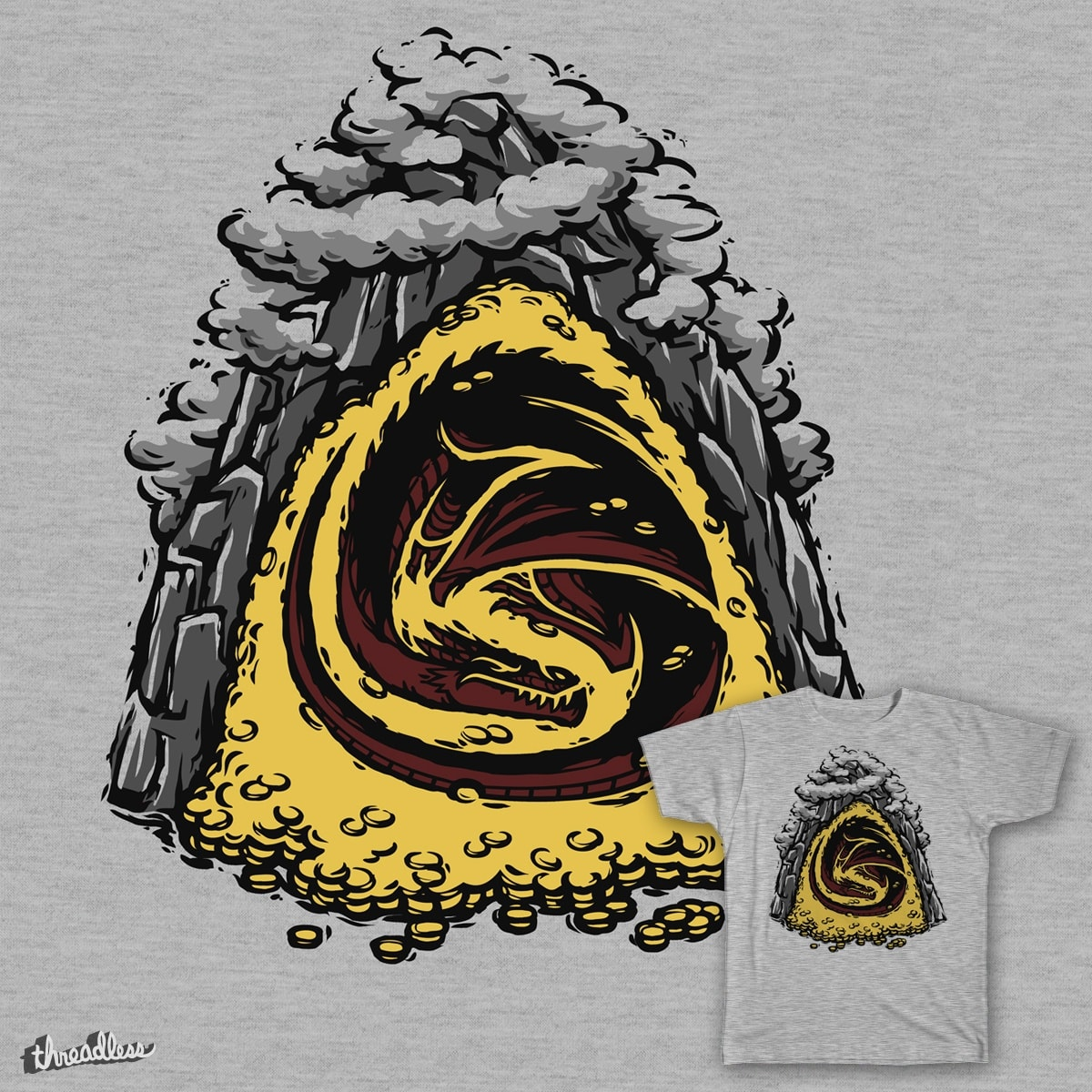 Within the Lonely Mountain by Versiris on Threadless
