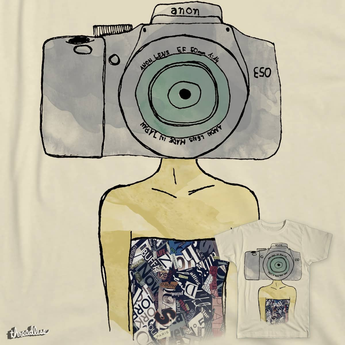 The Hipster by Lugge on Threadless