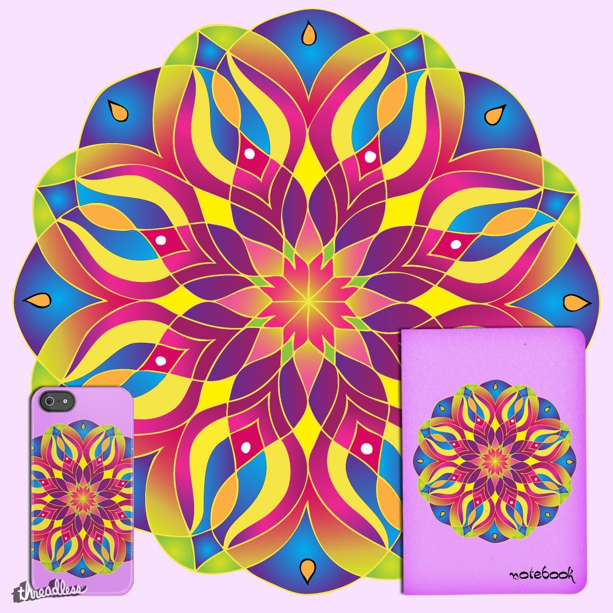 Mandala  by Kathy.HidRoa on Threadless