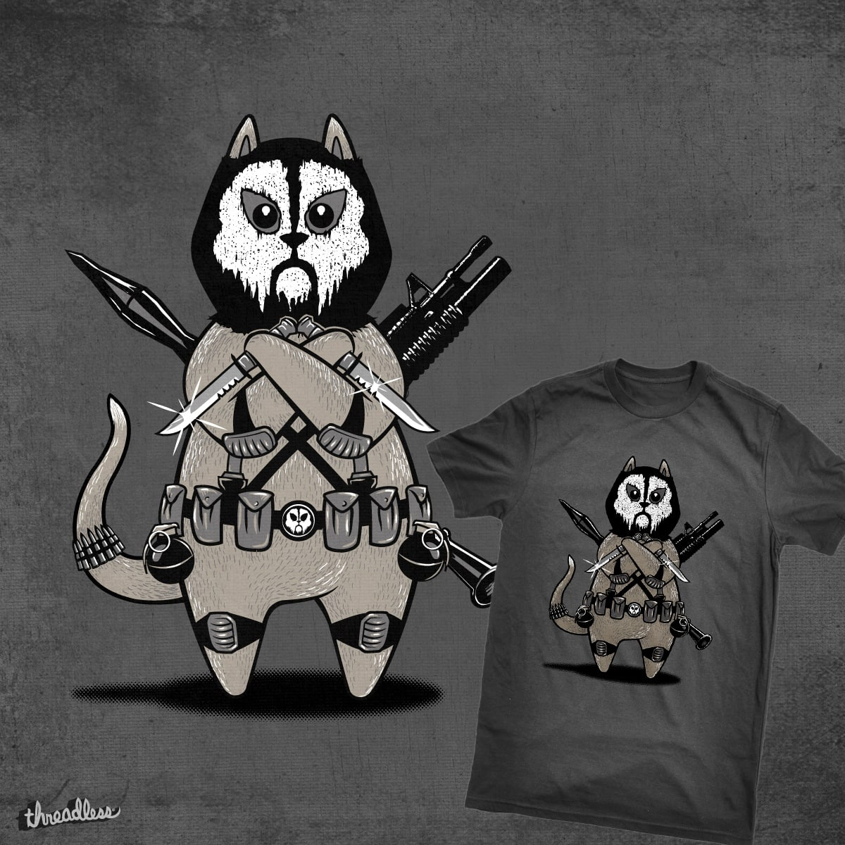 Lethal Kitty by PANAMERUM on Threadless